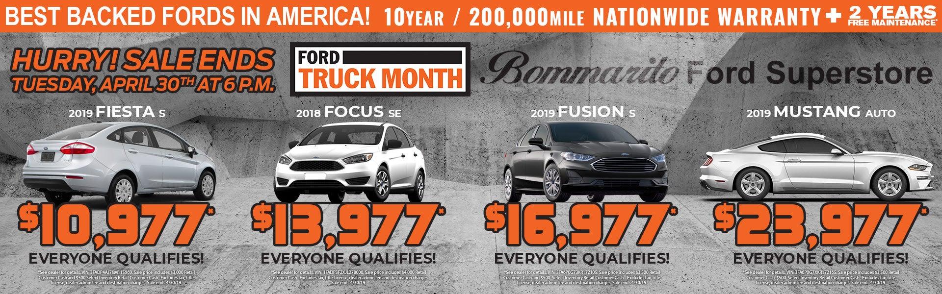 Bommarito Ford Super Truck Month