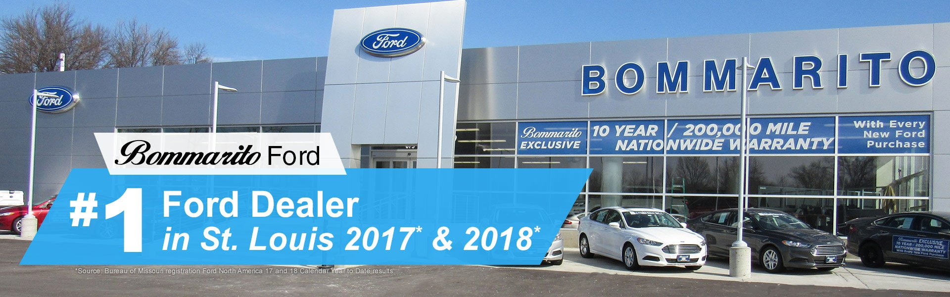 Ford Dealers St Louis >> Bommarito Ford Hazelwood Mo New Used Ford Dealership